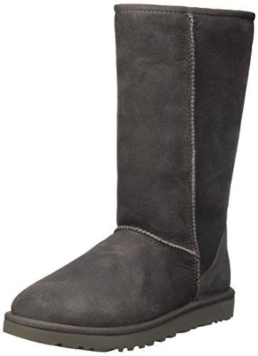 Frauen Boots Clearance Ugg (UGG Damen Classic Tall Halbschaft Stiefel, Grau (Grigio), 40 EU)