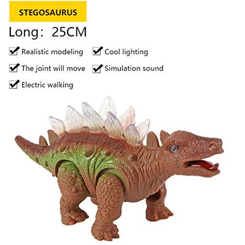 Mitlfuny Auto-Modell Plüsch Bildung Squishy Spielzeug aufblasbares Spielzeug im Freien Spielzeug,Kinder elektrischer Dinosaurier spielt Lumineszenzton-Simulations-Tierplastikspielzeug -