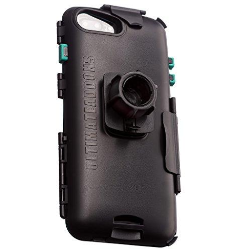 3 Prong Power (UltimateAddons Motorrad Wasserfeste Robuste Halterung für Apple iPhone 66S 78Plus 14cm mit Befestigungsmöglichkeiten)