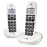 Doro Phone Easy 110 Duo téléphone fixe filaire Blanc