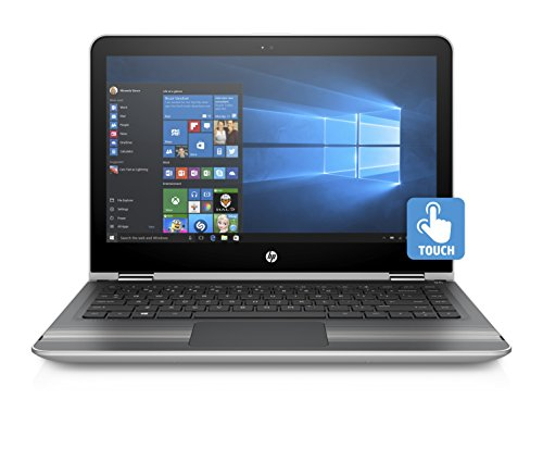 HP Pavilion 13-U135TU x360 13.3-inch Laptop (7th Gen Core i7-7500U/8GB/256GB/Windows 10/Integrated Graphics), Natural Silver