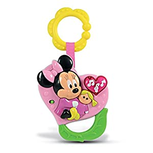 Clementoni – Rattle Electronic Minnie 14979 unica
