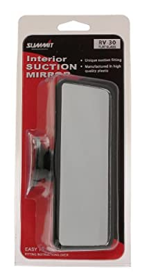 Summit RV-30 Large Flat Glass Mirror with Suction Pad - cheap UK light shop.