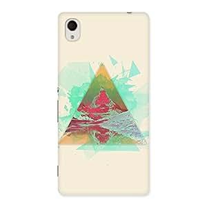 Neo World Geometric Wallpaper Back Case Cover for Xperia M4 Aqua