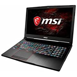 'MSI Gaming ge63vr 7re de -248it Raider 2.8 GHz i7 – 7700hq 15.6 1920 x 1080pixeles Nero Computer portatile