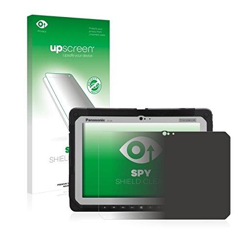 upscreen Spy Shield Clear Blickschutzfolie / Privacy für Panasonic Toughbook CF-20 (Sichtschutz ab 30°, Kratzschutz, selbstklebend)