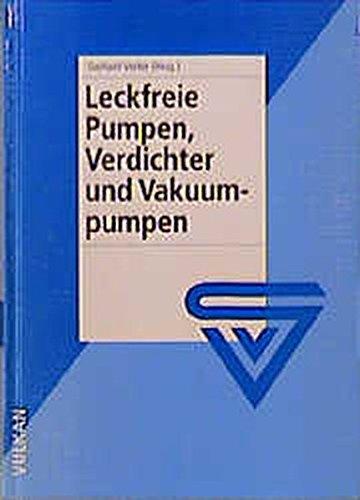 Preisvergleich Produktbild Leckfreie Pumpen, Verdichter und Vakuumpumpen
