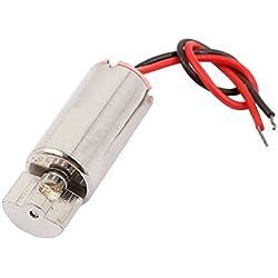 DC3.7V 6mmx12mm 50000r/min Vibración Coreless Motor para RC Modelo de juguete