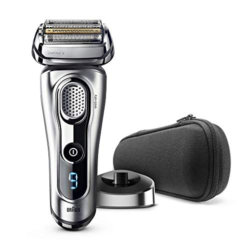 Braun Series 9 - 9260s Razor Wet & Dry Silver with Combination Pack