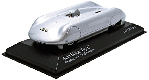 Minichamps 1:43 Scale 1938 Stromlinie Auto Union Type C