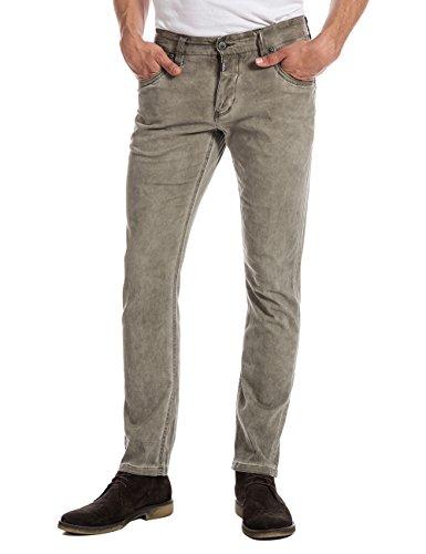 Timezone Herren Slim Hose EdoTZ 5 - pocket pants Beige (natural beige 6173)
