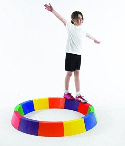 Sports Gym pour Piscine Jardin amusant jeu d'équilibre Beams-courbée