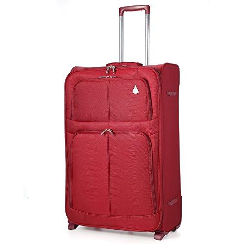 aerolite-super-lightweight-world-lightest-suitcase-trolley-cases-bag-luggage-26-wine-2-wheel