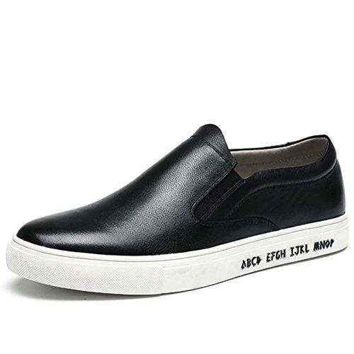 Hommes chaussures occasionnelles respirantes et cuir blanc Le Funan pieds chaussures