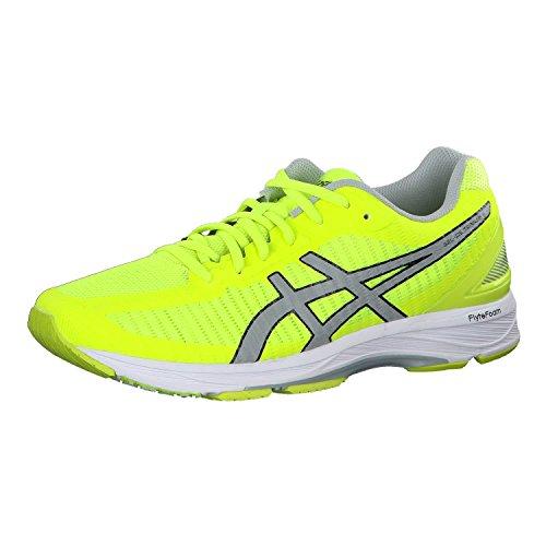 Asics Herren Gel-DS Trainer 23 Laufschuhe, Gelb (Safety Yellow/Mid Grey/White 0796), 46 EU (Dynamische Schuh Trainer)