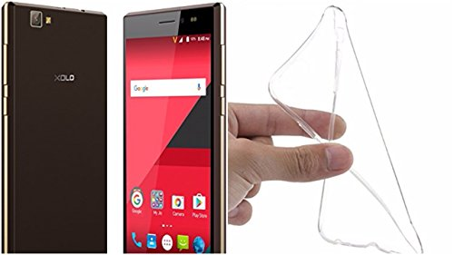 M.G.R.J [ Xolo Era 1X ] Ultra Thin 0.3mm Clear Transparent Flexible Soft TPU Slim Back Case Cover