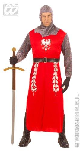 Costume vestito Re Artu' guerriero Crociato uomo Tg.L