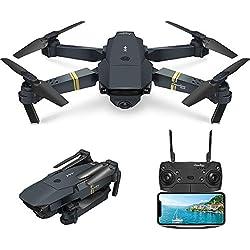 EACHINE Drone Pliable E58 Drone avec caméra 2.0MP 720P HD Drone x Pro Drone E58 Authentique / Livré par Amazon