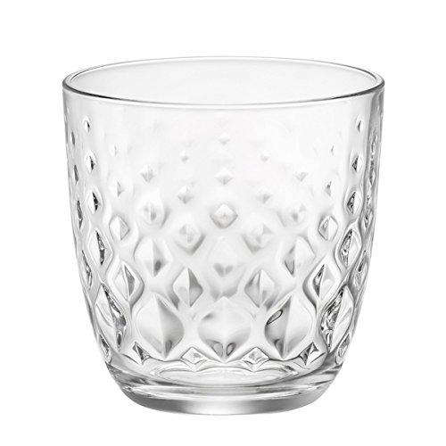 – Set 12 bicchieri (6pz MAT + 6pz GLIT) acqua bibita bevanda 29,5cl BORMIOLI MAT MADE IN ITALY recensioni dei consumatori