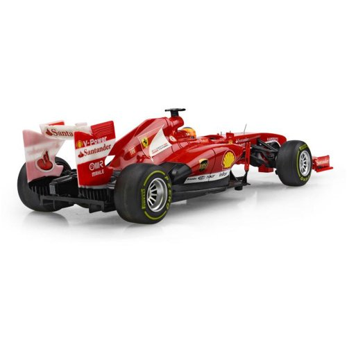 RC Auto kaufen Rennwagen Bild 2: FERRARI F138 - original RC ferngesteuertes Lizenz-Fahrzeug F1 Formel 1 Formula One im Original-Design, Modell-Maßstab 1:18, RTR inkl. Fernsteuerung*