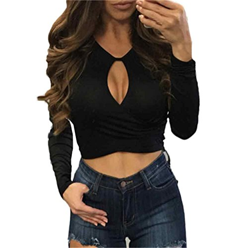 LHWY Donne Hollow Fuori Senza Spalline Ladies Fashion Slim Top