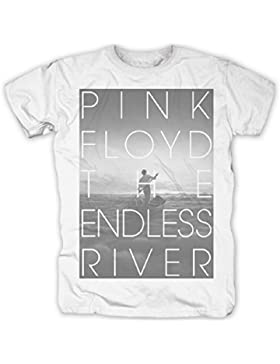 PINK FLOYD - THE ENDLESS RIVER - Camiseta Oficial Hombre