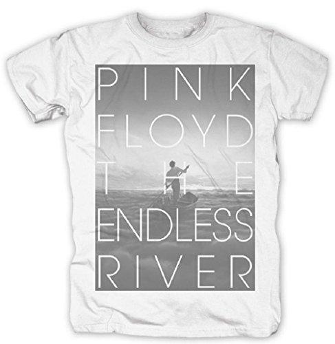 Pink Floyd - Camiseta - para Hombre Blanco Blanco Small
