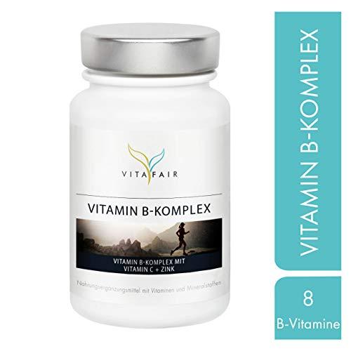 Vitamin B Komplex - Alle 8 B-Vitamine