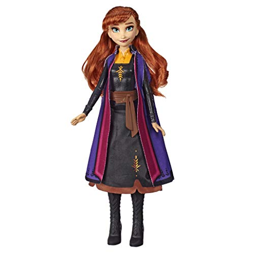 Hasbro Disney Frozen 2 Fashion Doll Light Up Anna, Multicolor, E7001ES0