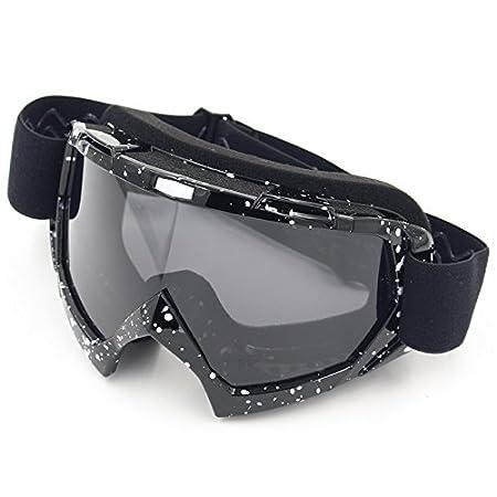 Spohife Motorradbrillen, Motocross Dirtbike Fahrrad Off-Road Schutzbrille Motorrad Goggles Crossbrille Sportbrille Wind…
