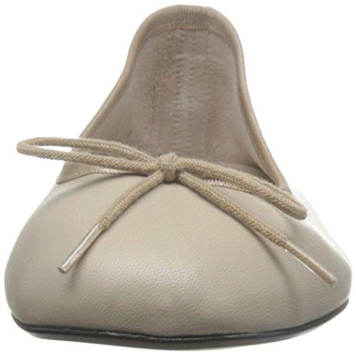 French Sole Damen Basic Ballet Ballerinas Beige (Nude)