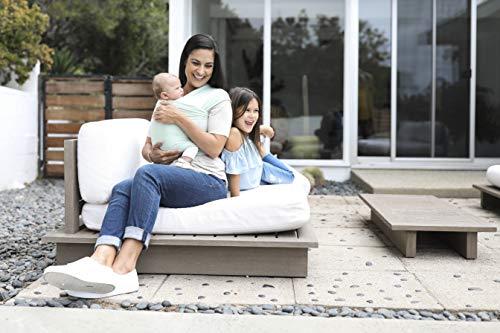 Ergobaby Baby-Tragetuch für Neugeborene bis 11 kg, Elastisches Babytragetuch Sage Atmungsaktiv aus 100% Viskose, Sling für Tragetuch Neulinge - 5