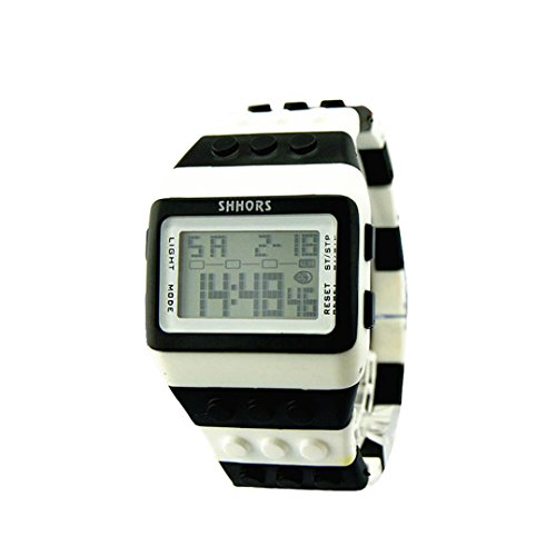 Preisvergleich Produktbild Uhr Uhren Sportuhr armbanduhr DAY.LIN Unisex bunte digitale Armbanduhr (C)