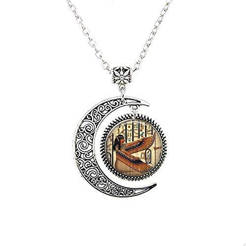 Isis Jewelry Halskette, ägyptische Göttin Isis Mond, ägyptischer Schmuck