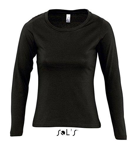ATELIER DEL RICAMO - T-shirt de sport - Femme Noir