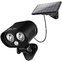 Luz Solar Búho biónico, SUNTOLL,Lluminación LED con Sensor de Movimiento,para Jardín, Casa, Escaleras de pared de Camino, Entrada, Patio, Garaje, Carretera, Patio y Terraza [Eficiencia energética A+]