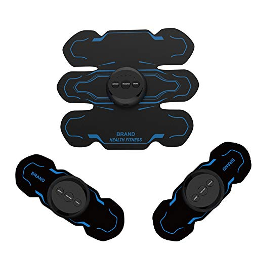ZFAZF EMS Muscle Stimulator,Abdominal Muscle Toner,ABS Stimulator USB Rechargeable für Abdominal, Arm und Bein -