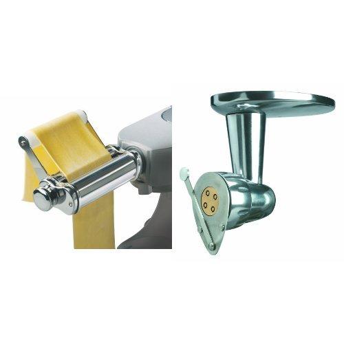 Kenwood accessorio Torchio per la pasta AT910 + accessorio Tirapasta AT970A