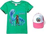 Raya and The Last Dragon - Camiseta de manga corta unisex para niñas Raya y The Last Dragon