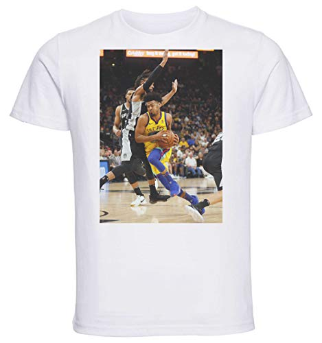 Instabuy T-Shirt Unisex - White Shirt - Basket - Cook Quinn Size Medium