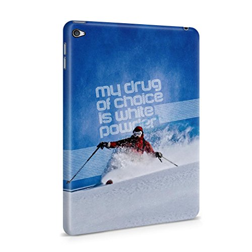 skiing-my-drug-of-choice-quote-plastic-tablet-case-cover-shell-for-ipad-mini-4-schutzhulle-tasche-ha