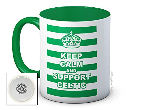 Keep Calm and Support Celtic FC Mug Gift