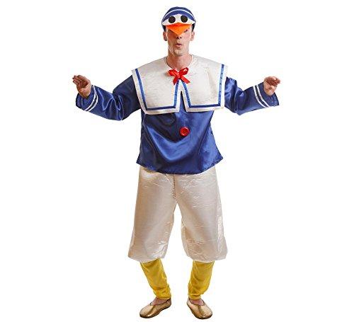 Imagen de disfraz de pato azul para adultos