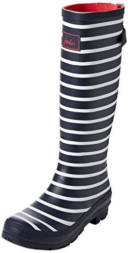 Tom Joule Wellyprint, Stivali di Gomma Donna, Blau (French Navy Stripes Fnavstp), 40/41 EU