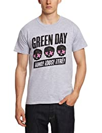 Bravado - T-shirt Homme - Green Day - 3 Heads Better Than 1