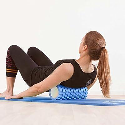 EXTREM DICKE Fitnessmatte (2cm!) »Jivan« / dick und weich, ideal für Pilates, Gymnastik und Yoga, Maße: 183 x 61 x 2,0cm / In vielen Farben erhältlich. Perfekt für empfindliche Personen - sehr weich - auch zum Balance-Training verwendbar