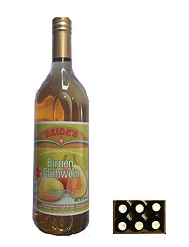 Birnen-Glühwein 9,5% Alc. 6 x 0,75 l-Flasche - pfandfrei -