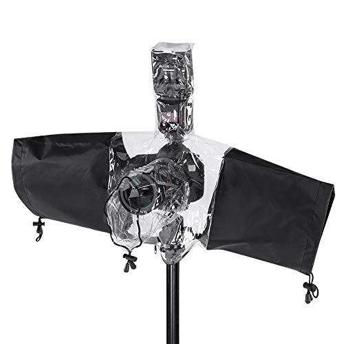 Nosii Camera Protector Rain Cover Rainproof Wasserdicht für DSLR Camera Flashlight Rain Protector