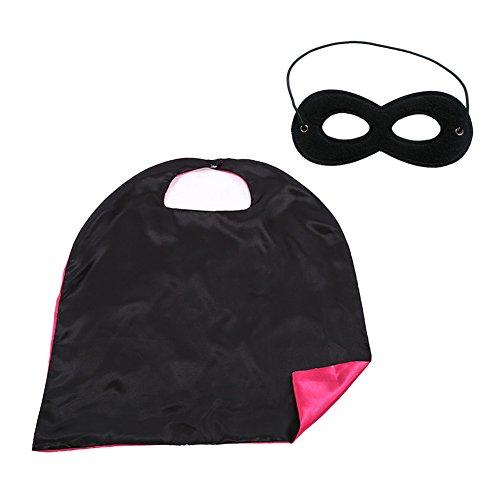 Muka Boys & Girls Superheld Satin - Capes mit F¨¹hlte, Masken, 35.5