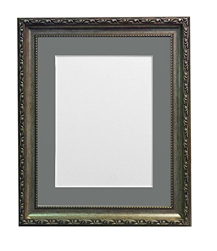 frames-by-post-picture-photo-frame-with-dark-grey-mount-for-8-x-6-inch-picture-size-silver-30-mm-wid